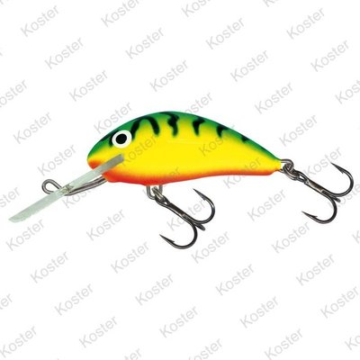 Salmo Hornet Floating Green Tiger 4cm