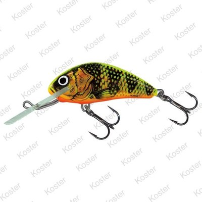 Salmo Hornet Floating Gold Fluo Perch 5cm