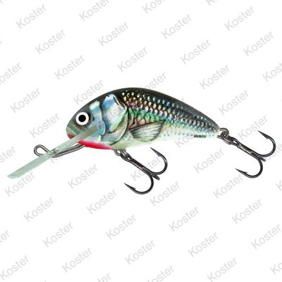 Salmo Hornet Floating Holographic Grey Shiner  4cm