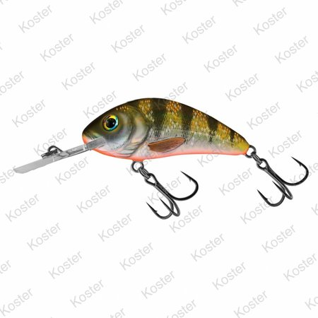 Salmo Rattlin' Hornet Floating Yellow Holographic Perch 3.5cm