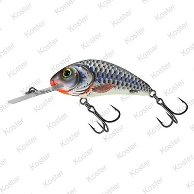 Salmo Rattlin' Hornet Floating Silver Holographic Shad 4.5cm