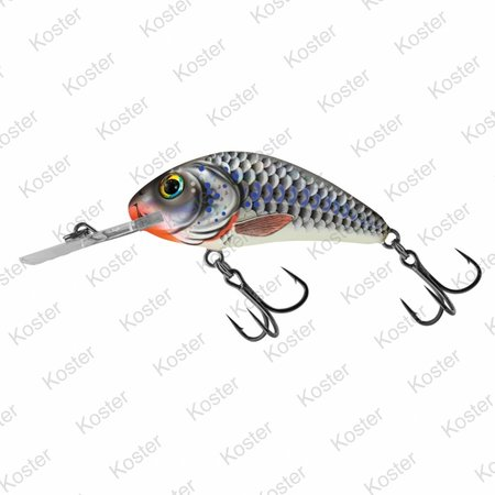 Salmo Rattlin' Hornet Floating Silver Holographic Shad 5.5cm