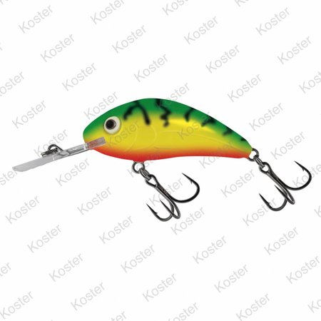 Salmo Rattlin' Hornet Floating Green Tiger 5.5cm