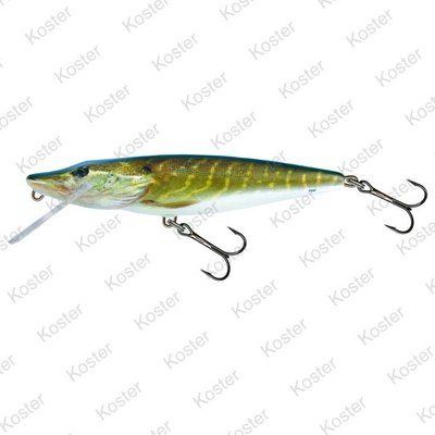 Salmo Pike Floating Real Pike 11cm