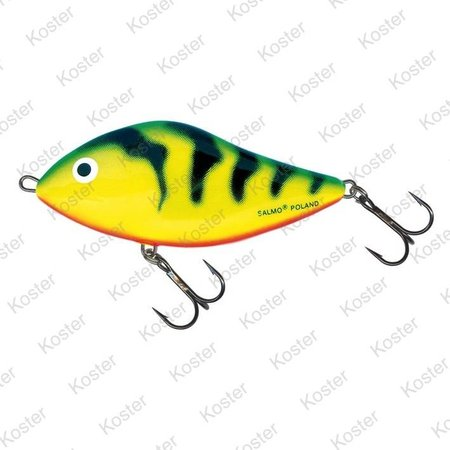 Salmo Slider Sinking Green Tiger 7-10-12cm