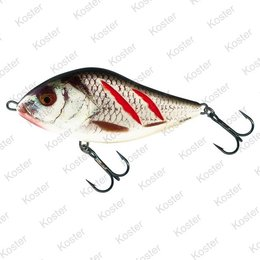 Salmo Slider Sinking Wounded Real Grey Shinner 7-10-12cm