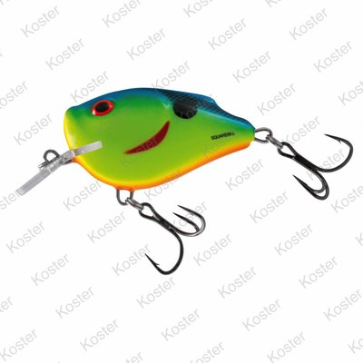 Salmo Squarebill Floating Chartreuse Powder Blue 6cm