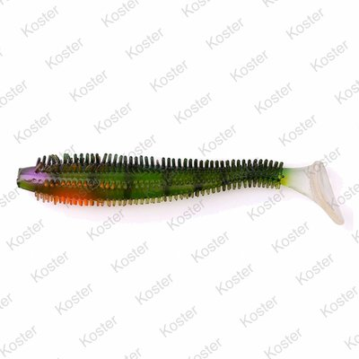 Rage Spikey Shad Perch UV 6-9cm