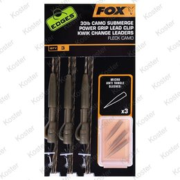 FOX Submerge Power Grip Lead Clip Kwik Change