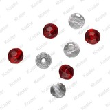 Spro Faceted Glass Beads 8mm