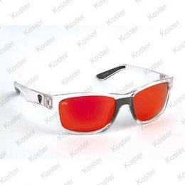 Rage Trans Frames/Grey Lens Mirror Red Eyewear