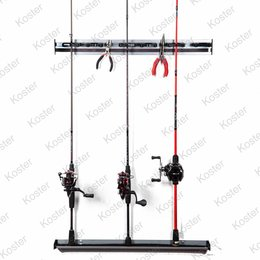Iron Claw Wall Rod & Tool Organizer