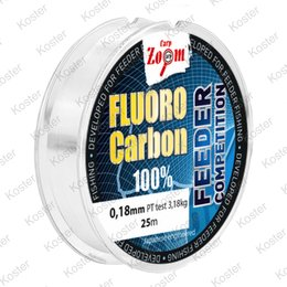 Carp Zoom Fluorocarbon Leader 25 mtr