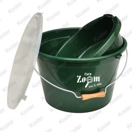 Carp Zoom Bait Bucket Set 25ltr