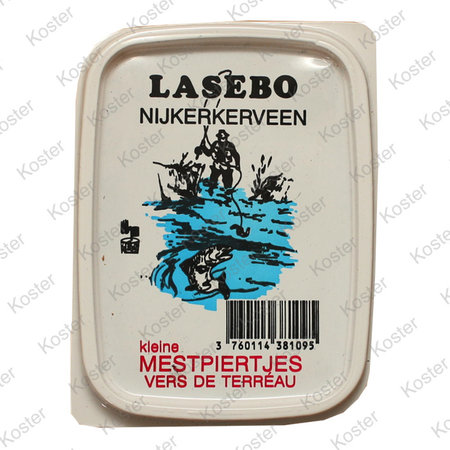 Lasebo Mestpiertjes Klein Bakje (+- 50 stuks)