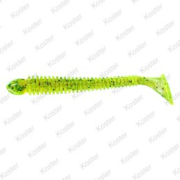 Berkley Flex Beat Shad Chartreuse Pepper Red 10 Cm.