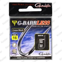 Gamakatsu G-Barbless Gama Black