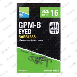 Preston GPM-B Eyed Barbless