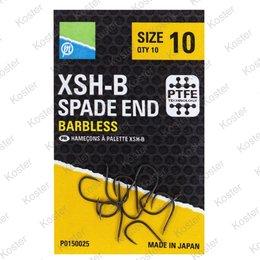 Preston XSH-B Spade End Barbless