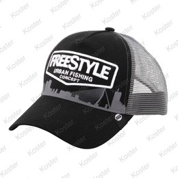 Freestyle Trucker Cap Black