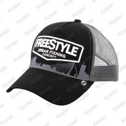 Freestyle Trucker Cap Black