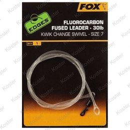 FOX Fluorocarbon Fused Leader Kwik Change 30lb