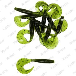 Lion Sports Onyx Twister Dark Green Glitter 70  mm.