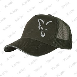 FOX Green/Silver Trucker Cap