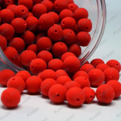 CBB Squid Garlic Robin Red 10 mm Mini Boilies (Voorgeboord)