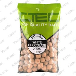 C-TEC White Chocolate Boilies 20 mm. 1 kg.