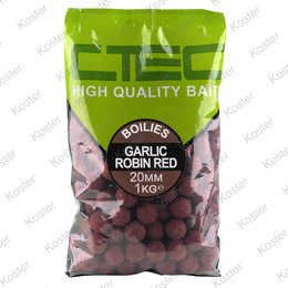 C-TEC Garlic Robin Red Boilies 20 mm. 1 kg.