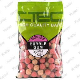 C-TEC Bubble Gum Boilies 20 mm. 1 kg.