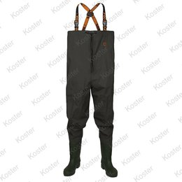 FOX Lightweight Chest Waders Green