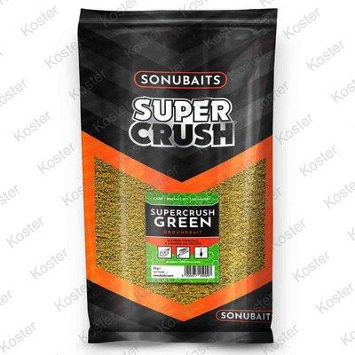 Sonubaits Supercrush Green Koi Pellet Groundbait