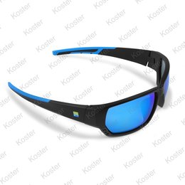 Preston Polarised Sunglasses Blue Lens (Floater)