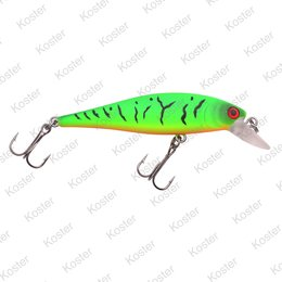 Spro PowerCatcher Minnow Matte Fire Tiger UV