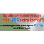 20% Extra Korting Op=Op