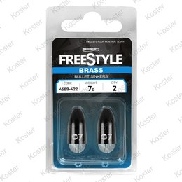 Freestyle Brass Bullet Sinker