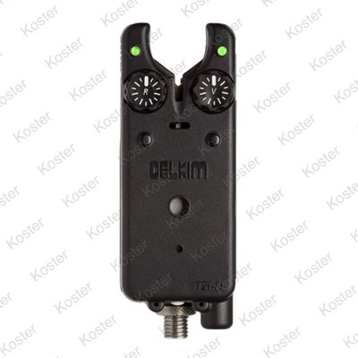 Delkim TXI-D Digital Bite Alarm - Groen