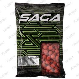 Strategy Baits Saga Cherry Bomb Boilies 15mm. 1kg