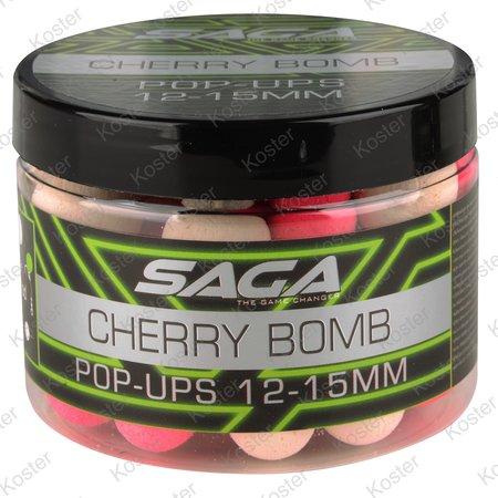 Strategy Baits Saga Cherry Bomb Pop-ups 12&15mm.