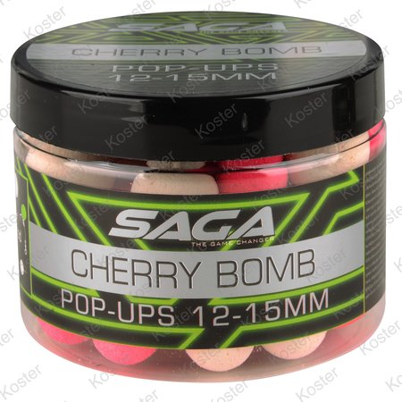 Strategy Baits Saga Chocolate Fudge Pop-ups 12&15mm.