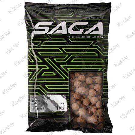 Strategy Baits Saga Squid & Garlic Boilies 20mm. 1kg