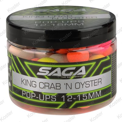Strategy Baits Saga King Crab & Oyster Pop-ups 12&15mm.