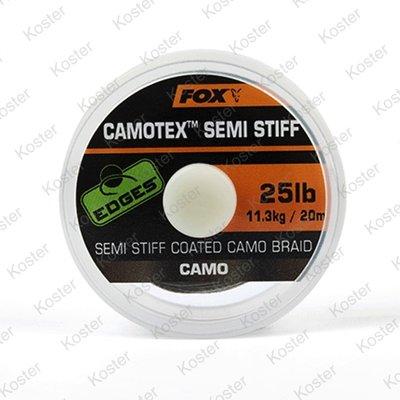 FOX EDGES Camotex Semi Stiff Camo Braid 20m