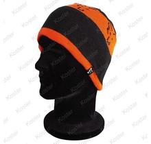 Black/Orange Beanie
