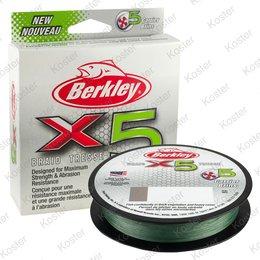 Berkley X5 Braid Low-Vis Green - 150m