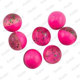 Berkley PowerBait Power Eggs Floating Garlic - Clear Green Purple-Pink