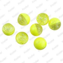 Berkley PowerBait Power Eggs Floating Garlic - Clear Silver Fl-Yellow