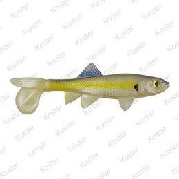 Berkley PowerBait Sick Fish 10cm - Chartreuse Shad